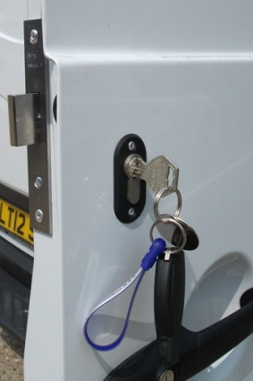 Van locks fitted london